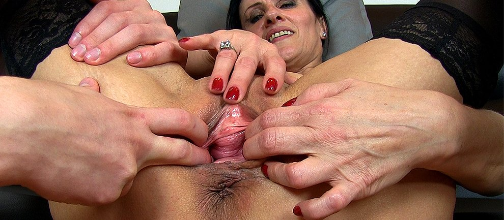 Cheating boobed milf